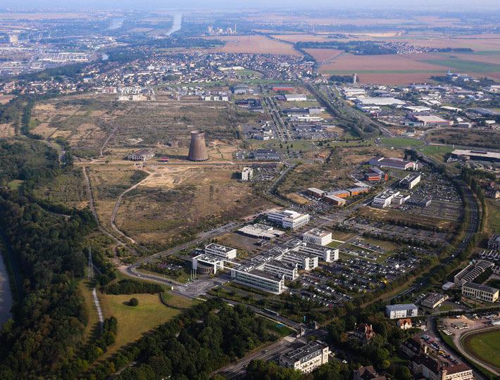 Campus Effiscience Normandial Colombelles createur parcs activites economiques