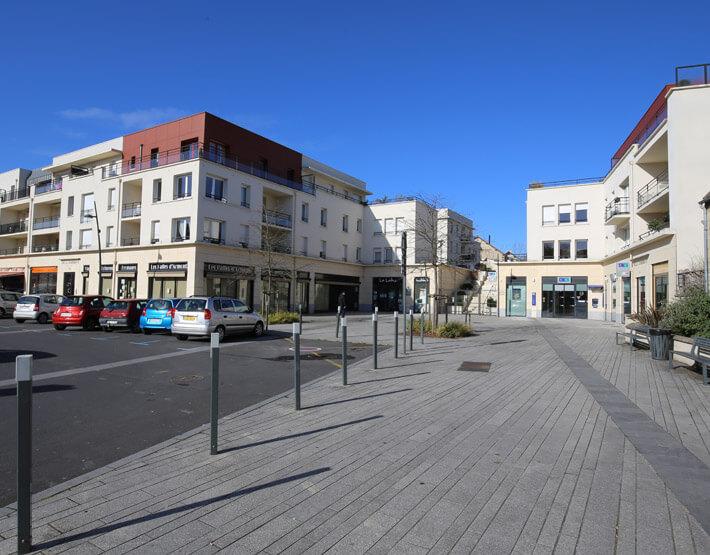 Centre ville Mondeville acteur renouvellement urbain