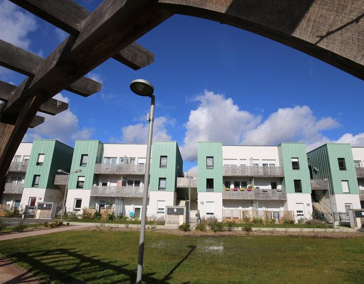 Quartier Jean Jaures createur quartiers habitat