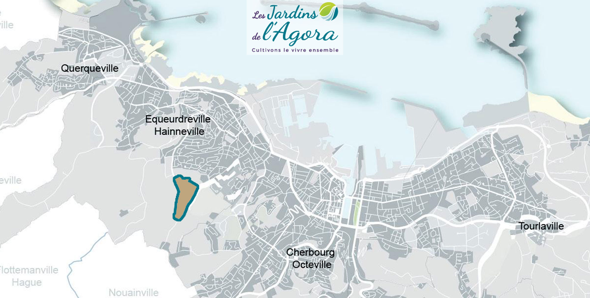 Normandie-amenagement-Quartier-Cherbourg-Les-jardins-de-l-agora